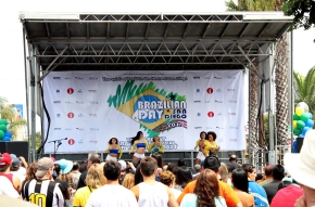 Brazilian day 2013, stage 1, by Shaan