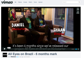 All Eyes on Brazil - 6 months mark video